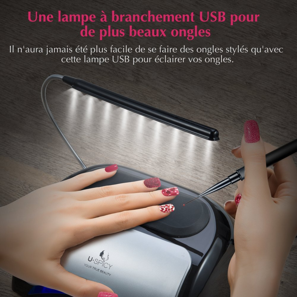 Et Et Sèche Uspicy Sèche Lampe Ongles Lampe Ongles WYD9IHE2